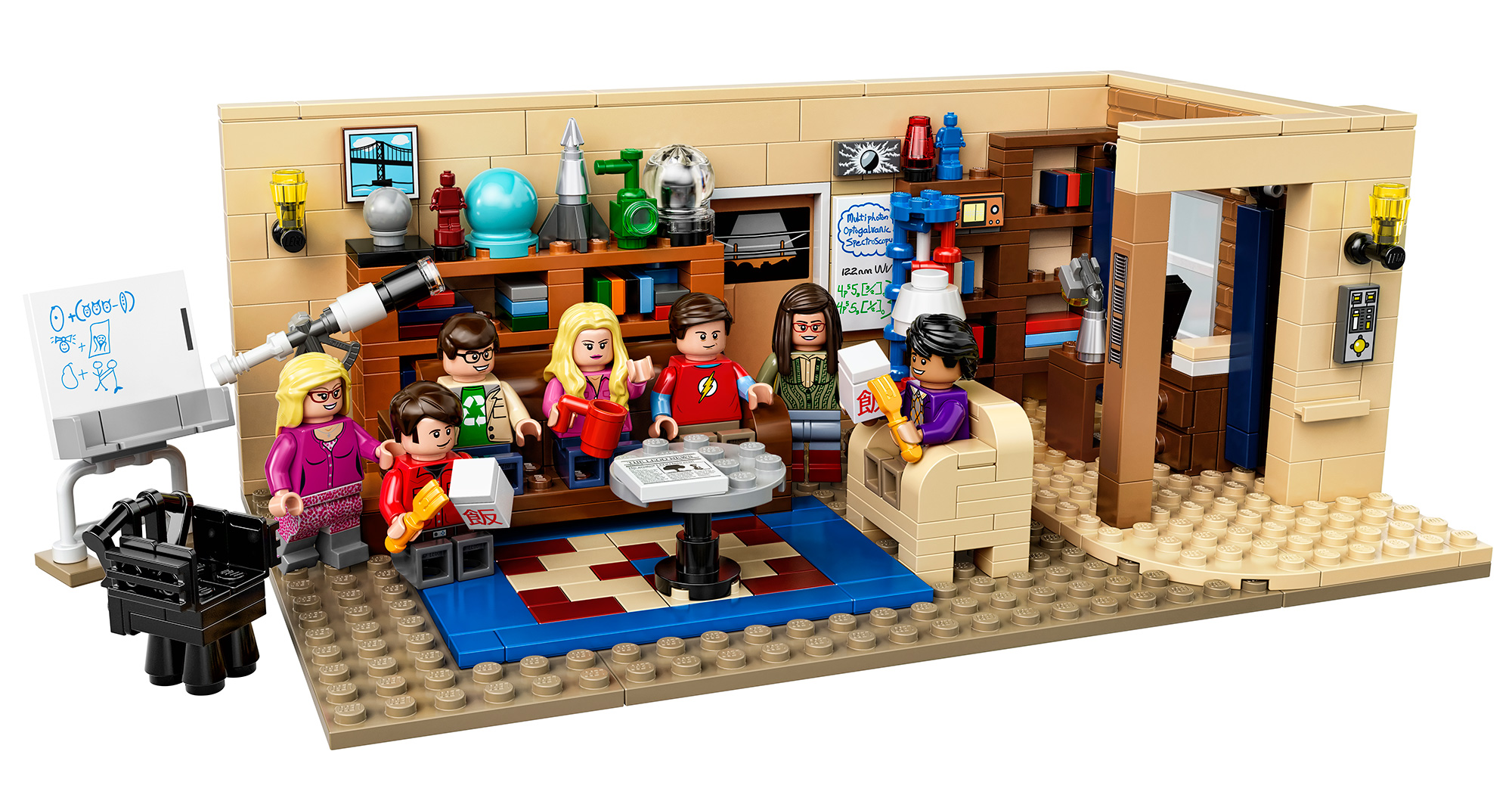 The Big Bang Theory LEGO – Merchandising The Big Bang Theory