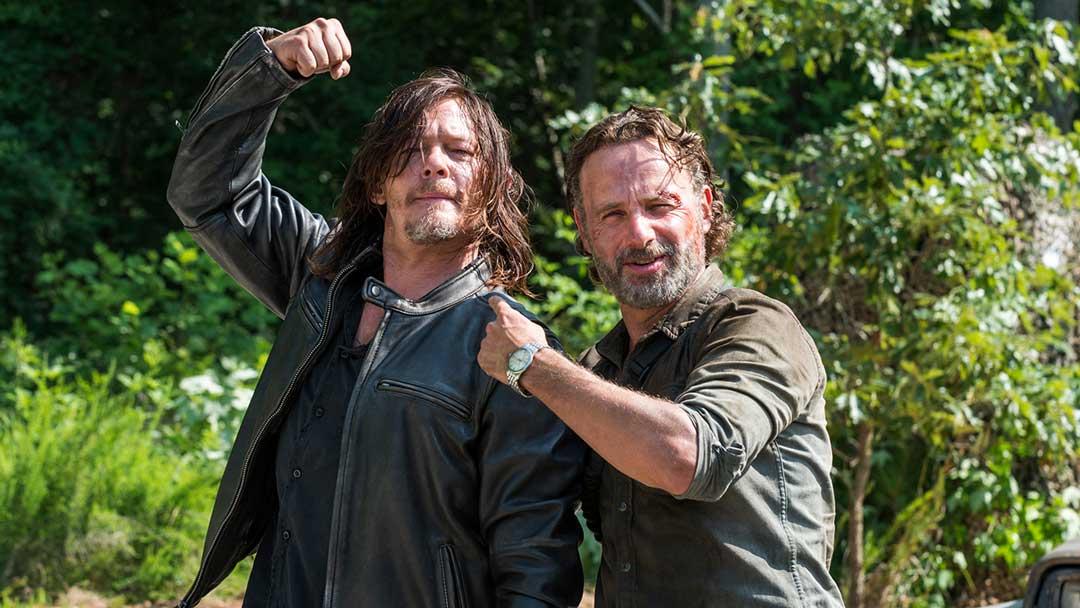 "Norman Reedus toma el poder en ""The Walking Dead"""